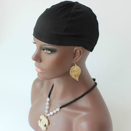 Spandex Dome Cap For hair extensions wigs Strech Hairnets Wig Caps full size for the perfect fit