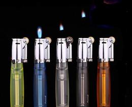 Promotion les types d'incendie Le nouveau feu de feu de feu aomais flottant mèches de roue de meulage cylindrique transparente gonflable allumeur feu de type pour le silex gonflable