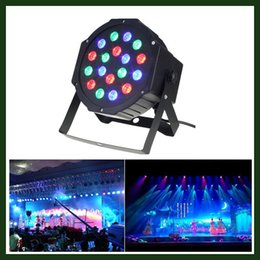 Wholesale Fast Delivery LED Par Lights for Stage Lighting with RGB Magic Effect by Remote Control and DMX512