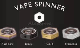 VAPE SPINNER Finger Spinner Fidget Toy Torqbar Atomizer Box Mod Parts 510 Thread Connector Extender 4 colors fit RDA RTA RDTA Tank DHL