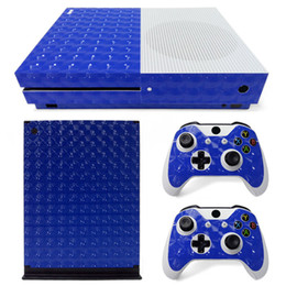 3D Cat Eye film Full Set Skin Sticker Protective Vinyl Decals For Microsoft xbox one S Console and 2 Controllers Cover Skin Stickers