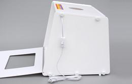 Éclairage de la rampe à vendre-5500LUX 110V-250V 510 * 400 * 390mm SANOTO MK50 Portable Mini Lumière LED Booms Photo Photographie Studio Light Box Softbox
