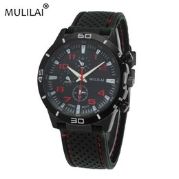 mulilai new ORIGINAL fashion F1 racing sports watch quartz luxury watch GT men and silicone belt military watch