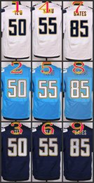 Wholesale 2017 Elite Football All Stitched TE O Seau Antonio Gates Light Blue White Dark Blue Jerseys Mix Order