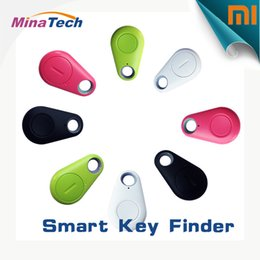 Promotion enfants finder Vente en gros-2016 Hot Smart Tag Bluetooth Tracker Enfants Sac Portefeuille Key Finder GPS Locator Alarme 4 couleurs Livraison gratuite