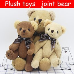 Wholesale 2017 manufacturers knot bear plush doll toy tie teddy bear girls children birthday holiday cute plush gift