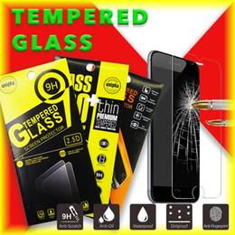 Pantallas digitales en venta-9H Dureza HD de vidrio templado pantalla resistente a los arañazos sensible a prueba de golpes anti-caída de anti-huella digital del teléfono celular protector de pantalla de vidrio