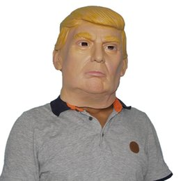 Wholesale Latex Mask Of New President Donald Trump New President The Real Estate Magnate Trump s Same Latex Masks