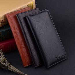 Clips de bolsas en venta-Bolso largo de la tarjeta de múltiples funciones del juego fino de la pretina de la cartera de los hombres de la manera de los nuevos hombres de la manera