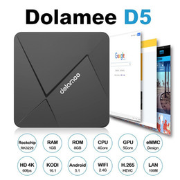 Wholesale TDOLAMEE D5 TV BOX Android Smart GB G G Penta Core GPU Support G