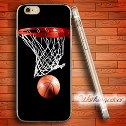 Coque Luxury Basketball Soft Clear TPU Case for iPhone 7 6 6S Plus 5S SE 5 5C 4S 4 Case Silicone Cover.