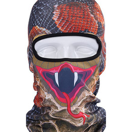 Wholesale 3D Cap Dog Animal Outdoor Sports Bicycle Cycling Motorcycle Masks Ski Hood Hat Veil Balaclava UV Full Face Mask