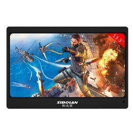 13.3 inch Black Full HD Portable Monitor 1920 x 1080 Resolution dual mini HDMI usb2.0 540 (cd m2)Brightness
