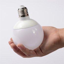 Wholesale LED Globe Bulb E27 W W W W Ball Light Energy Saving Lighting V Equivalent with W Incandescent Bulb