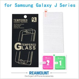 9H Hardness Tempered Glass Clear Transparent Screen Protector for Samsung Galaxy J1 J2 J3 J5 J7 Anti-shatter Film with Cleaning Tool