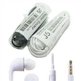 Earphones headphones headsets J5 Earphone For Samsung With Mic For Samsung GALAXY S2 S3 S4 Ace N7100 Galaxy S5 S4 Note3 S5830i