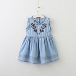 Джинсовые платья для детей до года