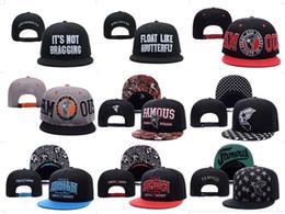 Promotion snapbacks pas cher retour Top qualité étoiles célèbres et sangles Snapback Caps Chapeaux Snapbacks Snap Back Hat Hommes Femmes Casquette de baseball Cheap Sale