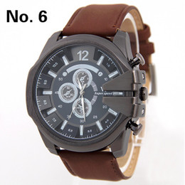 Explosion models V6 men waterproof fashion luxury military sports watch large belt table