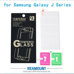 100pcs 9H High Premium Front Tempered Glass Screen Protector Film For Samsung Galaxy J Series J1 mini Ace J2 J3 J5 2016 J7 + retail box