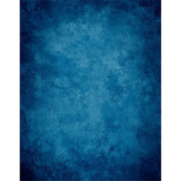 Promotion backdrops de vinyle de photographie de bébé 6x10ft Dark Blue Vinyl Solid Backdrops Photographie Nouveau-né Baby Photoshoot Background Studio Props Photo Booth backgrounds