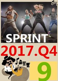 ON Top-sale 2017.10 October Q4 New Routine SPRINT 09 HIIT 30 Minutes Exercise Fitness Indoor Bicycle SPRINT09 SP09 DVD video + CD music