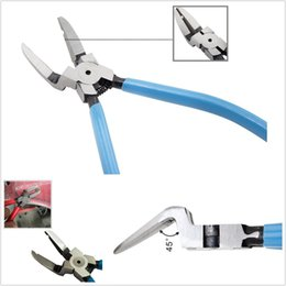 Portable Blue Metal Car SUV Rivets Diagonal Plier Fastener Cutter Removal Puller