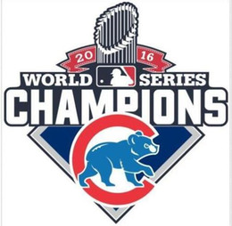 Wholesale 2016 Champions MLB Chicago Cubs World Series Decal Sticker printing patch