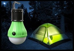Wholesale 2017 New Fashion Outdoor Portable Hanging LED Camping Tent Light Bulb outdoor camping light best portable outdoor led camping lantern