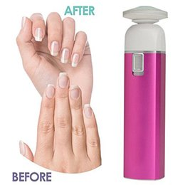 Wholesale 2016 Hot Jxz H in Electric Manicure Tool Hard Skin Callus Remover Nail File Polishing Tools Buff ABS Aluminum alloy Drop shipping