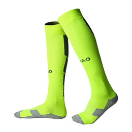 High Quality Brand Hot Sales Men's Soccer Sport socks adult men's Knee High cotton soccer stocking