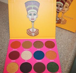 Wholesale make up eyeshadow palette The Nubian nd Edition Palette By Juvia Place Makeup Palette Makeup Cosmetic Set US