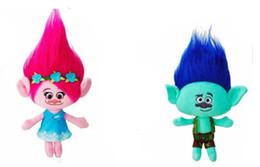 Poupées de Noël Poupées Love Doll NWT Dream Works Trolls Toys Large Poppy Branch Hug and Plush Doll Kids Xmas Gift à partir de étreindre jouets en peluche fabricateur