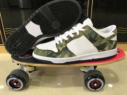 Sb dunks à vendre-SB Dunk Low Pro Camo Legion Vert Blanc chaussures de skate pour hommes Chaussures de sport athlétique de sport de haute qualité pour femmes