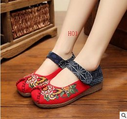 Wholesale HOT the new casual folk color matching women s casual shoes comfortable casual shoes Velcro