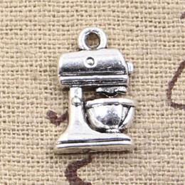 Wholesale Cents Charms coffeemaker coffee mm Antique Making pendant fit Vintage Tibetan Silver DIY bracelet necklace