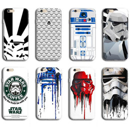 Wholesale Star Wars Soft TPU Case For Iphone S Iphone6 Plus S Silicon Cover Yoda Master Darth Vader