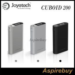 Wholesale Joyetech Cuboid W TC Box MOD First Triple Cells Mod Glossy Zinc Alloy Shell with Premium Finish Support VT VW TCR Modes Cuboid