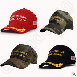 Wholesale 13 Designs Make America Great Again Hat Donald Trump Baseball Hats Republican Adjustable Trucker Snapback Outdoor Sport Caps CCA5394