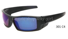 Wholesale Time Limited Buying Losing Price To Sell The Sunglass Men s Fashion Sunglasses Black color framework And rainbow lens Limit order