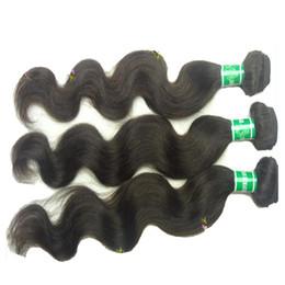 Promotion 22 pouces extensions de cheveux longueur Extensions de cheveux humains bruyantes non traitées, 3pc / lot, 100 grammes / lot, longueur de mélange 12 pouces ~ 30 pouces, 100% extension de cheveux humains,