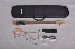 Mini star Lestar travel Electric guitar with carrying bag, Mini, Portable, Silent Guitar, Wholesale