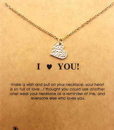 With card! cute Dogeared Necklace with love (I love YOU), silver and gold color, free shipping and high quality