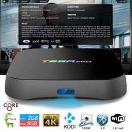 Wholesale 2gb gb Octa core S912 T95R pro Internet TV Box with Android OS G Wifi BT4 M Lan Amlogic Android TV Loaded KODI