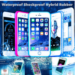 Shockproof Waterproof Full Sealed Protection TPU Cover Waterproof Case for Apple iPhone 7,Underwater ID Touch Screen Case for Iphone 6s 5se