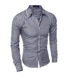 Free Shipping US Size M-2XL Men's Fashion Plaid Shirt Full sleeve casual shirt men streetwear business shirt camisa masculina chemise homme