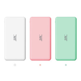 SDL E141 7500mAh 5V2.1A output 2 USB Port Ultra Thin Slim Powerbank Lithium Polymer Power Bank for Tablet iPad iPhone Samsung