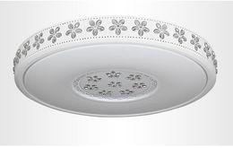 Descuento montaje en el techo accesorios de iluminación Ultrafino Superficie montado ronda moderna luz de techo LED para sala de estar niños dormitorio cocina hogar lámparas de decoración lámparas
