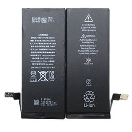 wholesale battery For iphone 6G APN:616-0805 3.82V 1810mah Best Quality Zero cycle AAA+ li-ion Battery Replacement & Free Fedex UPS