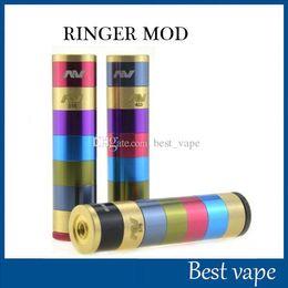 V2 fuhattan en Ligne-Manhattan AV Mods E Modules de cigarette Raibow AV Manhattan Ringer Mod 22mm Diamètre 510 Thread VS Fuhattan V2 mods